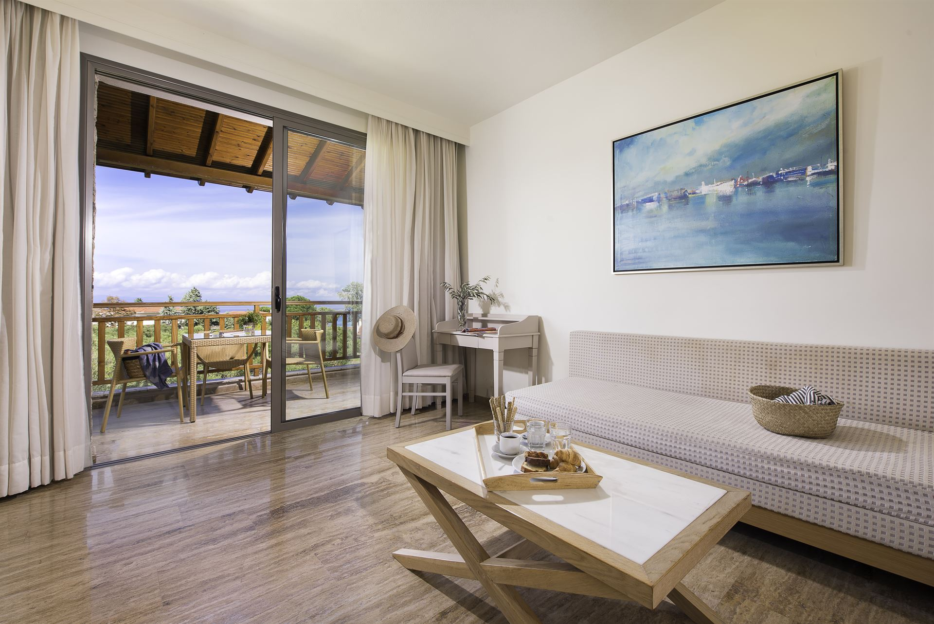 Kassandra Palace Hotel & Spa : Deluxe Suite SV