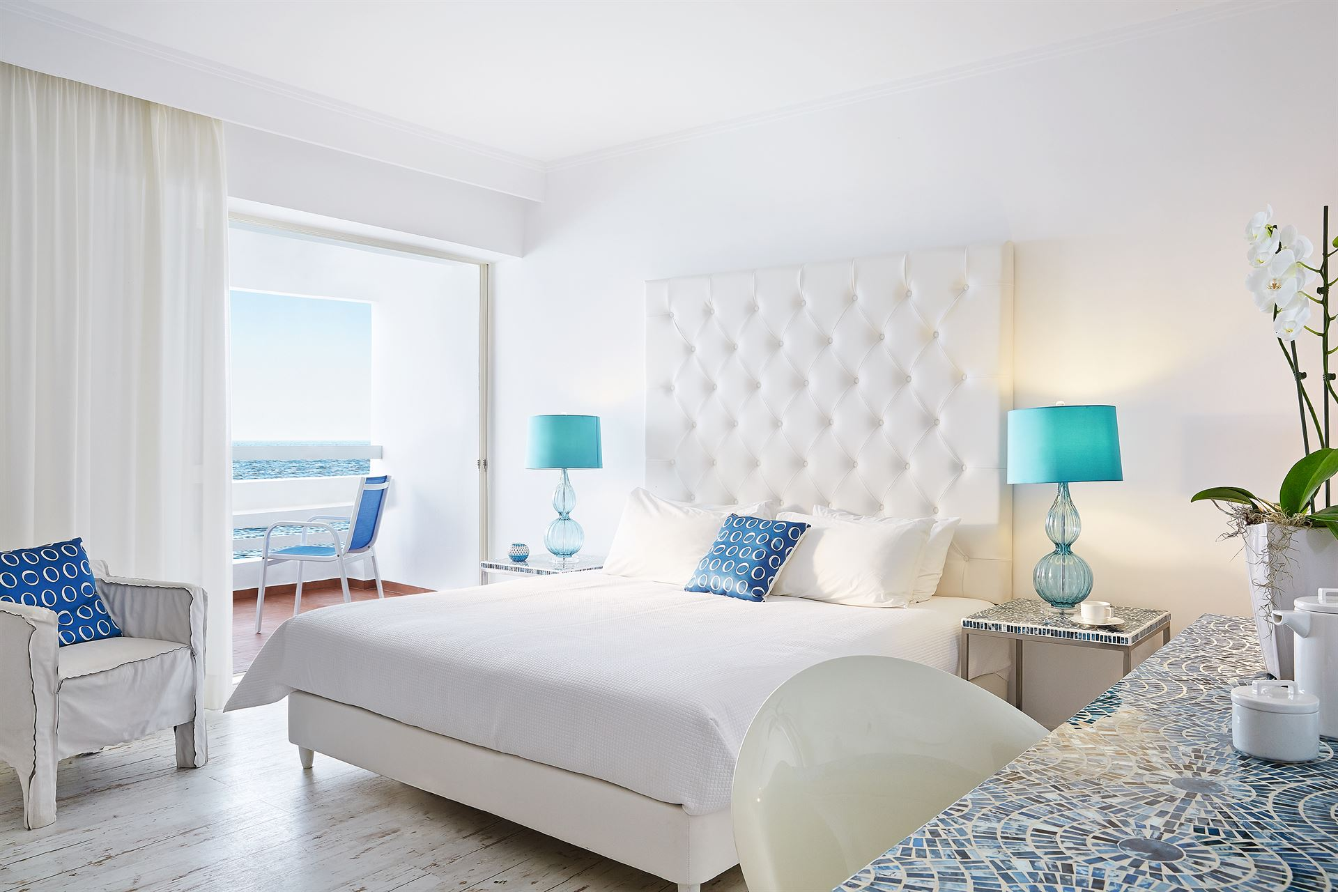 Grecotel Lux.Me White Palace : Superior SEa View Room