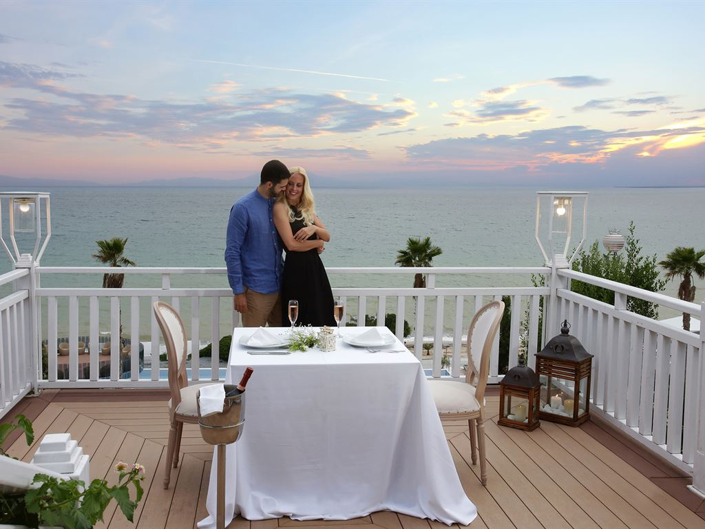 Pomegranate Wellness Spa Hotel: Poseidon Balcony