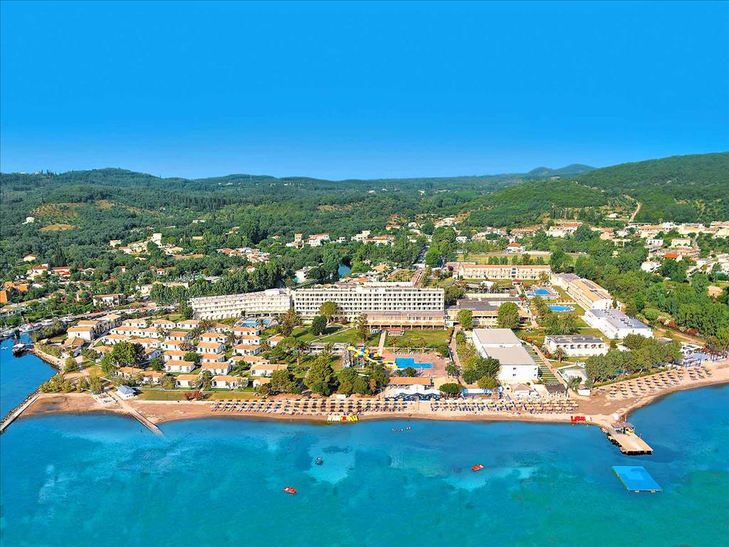 Messonghi Beach Resort: aerial view