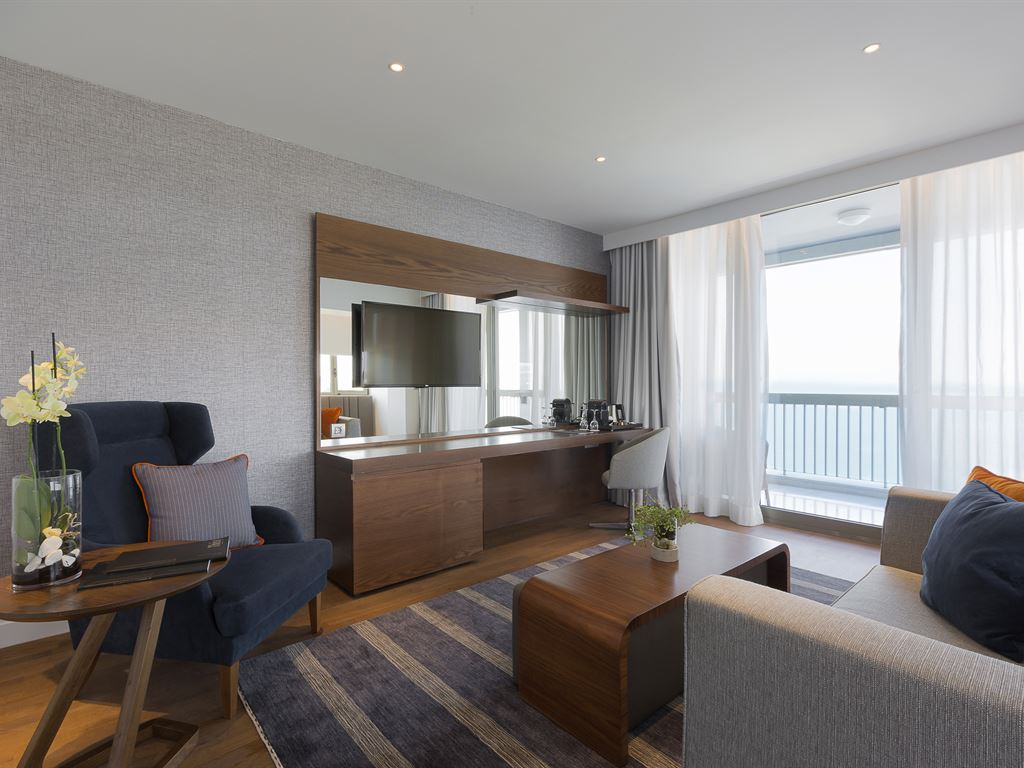 Makedonia Palace Hotel: Junior Suite Sea View